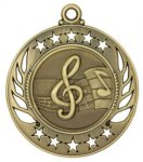 Music - Galaxy Medal Galaxy Medallion