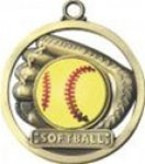 Softball - Game Ball Medallion Game Ball Medallion