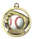 Baseball - Game Ball Medallion Game Ball Medallion
