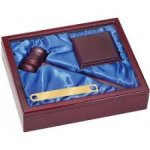 Rosewood Finish Gavel in Presentation Box Gavels