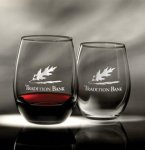 15 and 21 oz. Trendsetter Stemless Wine Glass Gift Items