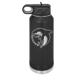 32 oz. Polar Camel Water Bottle - Matte Black Gift Items