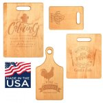 Maple Cutting Board Gift Items Made in the USA