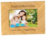 Bamboo Picture Frame Golf Gift and Desk Items