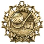 Golf - Ten Star Medal Golf Medals