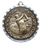 Diamond Cut Medal - Golf -  Male Golf Medals