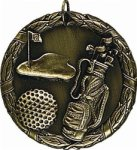 Golf - XR Medallion Golf Medals