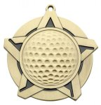 Golf - Super Star Medal Golf Medals