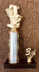Economy Trophy with Trim Golf Traditional Trophies