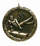 Gymnastics (Male) - XR Medallion Gymnastics Medals