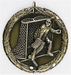 Hockey Goalie - XR Medallion Hockey Medals