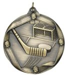 Hockey - Ribbon Medallion Hockey Medals