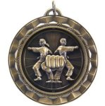 Karate - Spinner Medallion Karate  and Martial Arts Medals