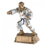Monster Karate Resin Trophy Karate, Martial Arts and Boxing Award Trophies