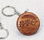 Rosewood Key Chain - Round Key Chains