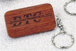 Rosewood Key Chain - Rectangle Key Chains
