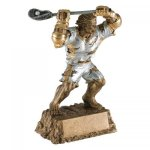 Monster Lacrosse Resin Trophy Lacrosse Award Trophies