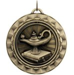 Lamp of Knowledge - Spinner Medallion Lamp of Knowledge Awards