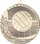 Laser Back 2 - Volleyball Laser Back M1200 Series Medallion