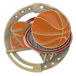 Basketball M3XL Color Medals