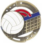 Volleyball M3XL Color Medals