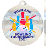 White Sublimatable Medal Medals | Custom Disc