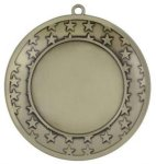 3.25 Stars Galore Blank Medal Custom Disc Holder Medals | Custom Disc