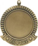 First Place - Custom Disc Medal Medals | Custom Disc