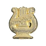 Chorus Lyre - Chenille Pin Music Award Trophies