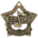 Music - Star Medallion Music Award Trophies
