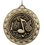 Music - Spinner Medallion Music Award Trophies