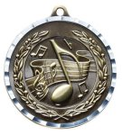 Diamond Cut Medal - Music Music Award Trophies
