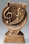 Music - Saturn Series Music Award Trophies