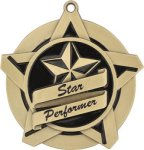 Star Performer - Super Star Medal  Music Awards and Medals
