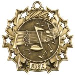 Music - Ten Star Medal Music Awards and Medals