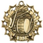 Band - Ten Star Medal Music Medals