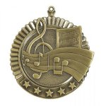 Music - 5-Star Medallion Music Medals