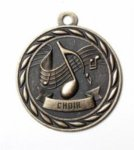 Choir - Scholastic Medal Series Music Medals