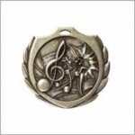 Music - Burst Medal Music Medals