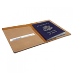 Leatherette Passport Holder Office Accessories