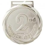 Olympic Medals - 2nd Place - Silver Olympic Style Medals