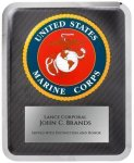 Hero Military Plaque - Marine Corps Patriotic and Military