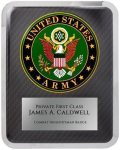 Hero Military Plaque - Army Patriotic and Military