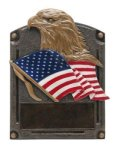 Eagle - Legends of Fame Resin Patriotic and Military