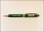 Green Marble Euro Pen   Pens and Cases