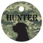 Round Pet Tag - Full Color    Pet Tags