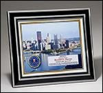 Aluminum Frame with White Sublimatable Plate Picture Frames and Gifts
