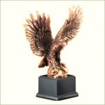 Eagle - Bronze Resin Sculpture Pinewood Derby and Scouts