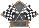 Racing - Diamond Plate Resin Trophy Pinewood Derby and Scouts