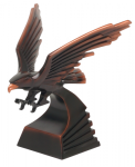 Eagle Bronze Sculpture Pinewood Derby and Scouts